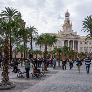 Ruta Cádiz Literaria - Plaza de San Juan de Dios