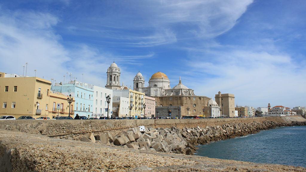 Centro Histórico de Cádiz. En inglés