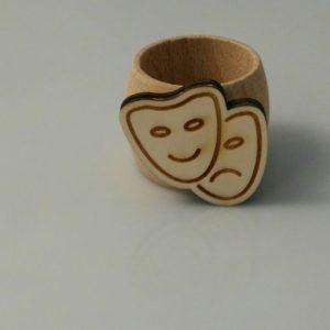 servilletero máscara carnaval