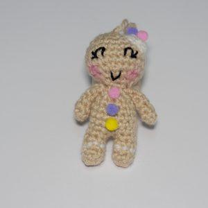 muñeco galleta navidad