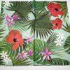 papel rojo y verde para abanicos mediano, grande y pequeño