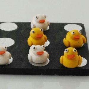 tres en raya patos