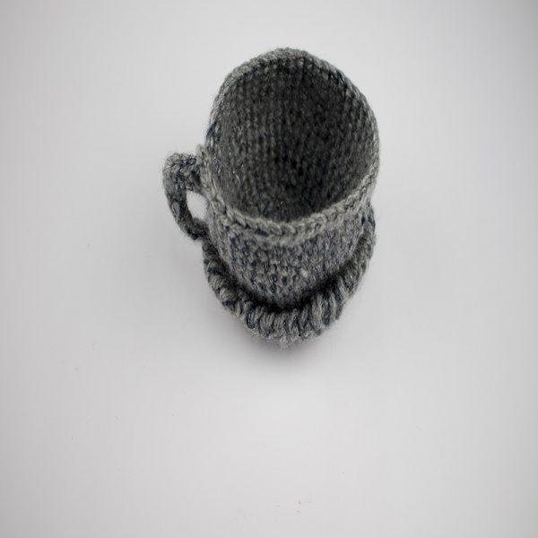 Tacita de plata de lana